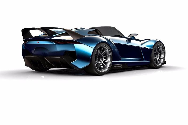 Rezvani Beast X: El modelo más radical, con 839 kg y 700 CV 2