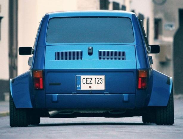 Vídeo: Este Fiat 126p con motor VTEC Turbo no es nada convencional... 2