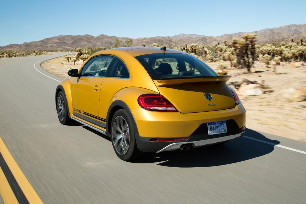 Volkswagen Beetle Dune: El Beetle más campero que llegará en 2016 2