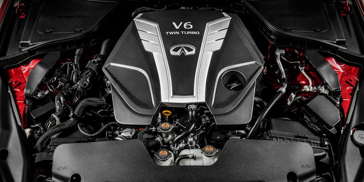A falta de Eau Rouge... el Infiniti Q50, ahora con el motor 3.0 V6 con dos turbos 2