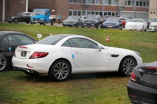 Así es el nuevo Mercedes SLC: Lavado de cara para el SLK 1