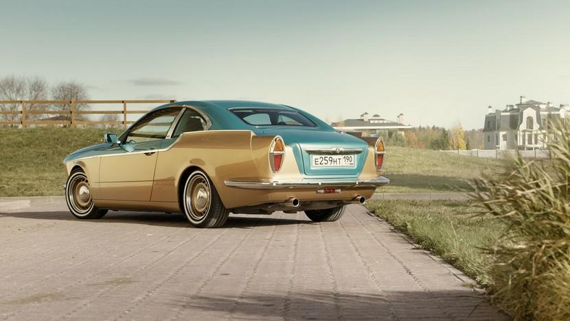 Bilenkin Vintage: El BMW Serie 3 E92 transformado a coche retro-ruso 2