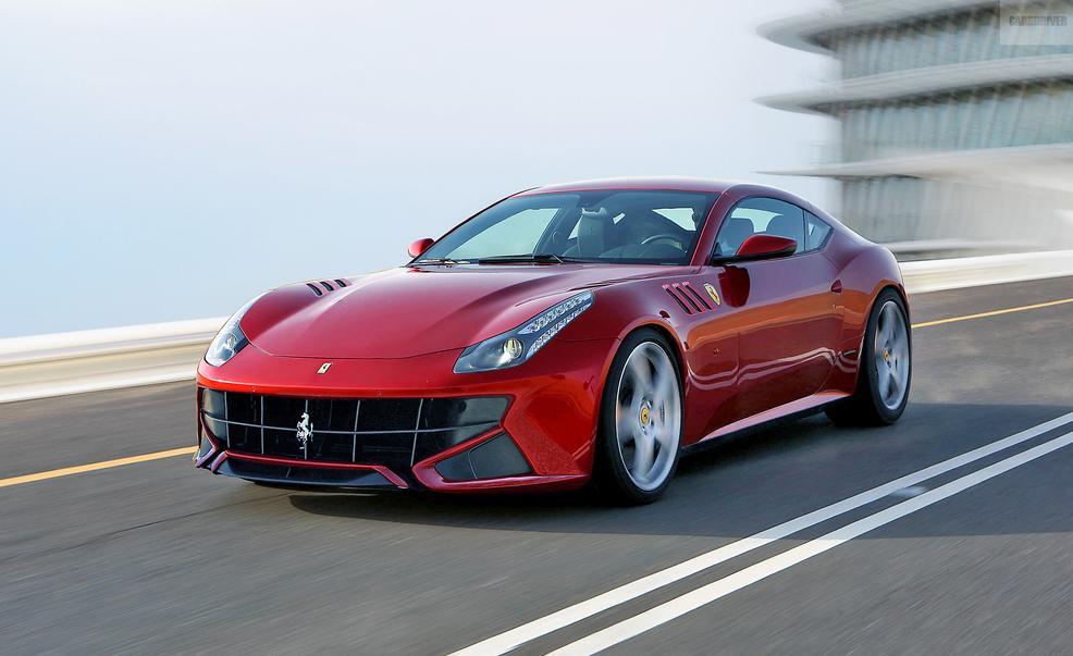 El Ferrari FF contará con un motor eléctrico y será híbrido 1