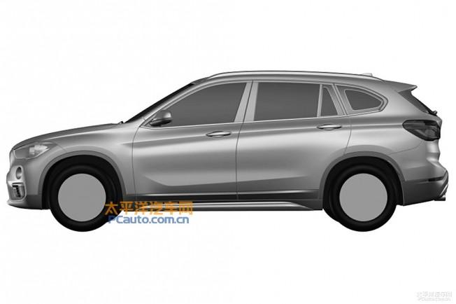 Filtrado: Así es el BMW X1 de batalla larga 1