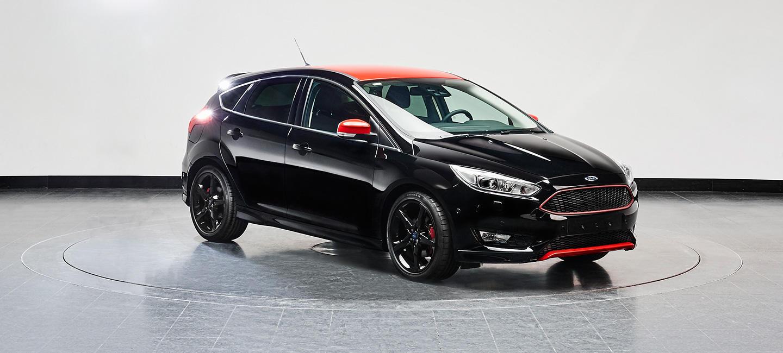 Ford Focus Black y Red Edition: Del Fiesta al Focus 3