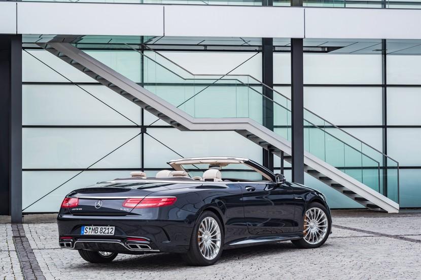 Mercedes-AMG S65 Cabrio: Disfrutando de un V12 sin techo 1