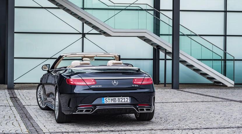 Mercedes-AMG S65 Cabrio: Disfrutando de un V12 sin techo 2