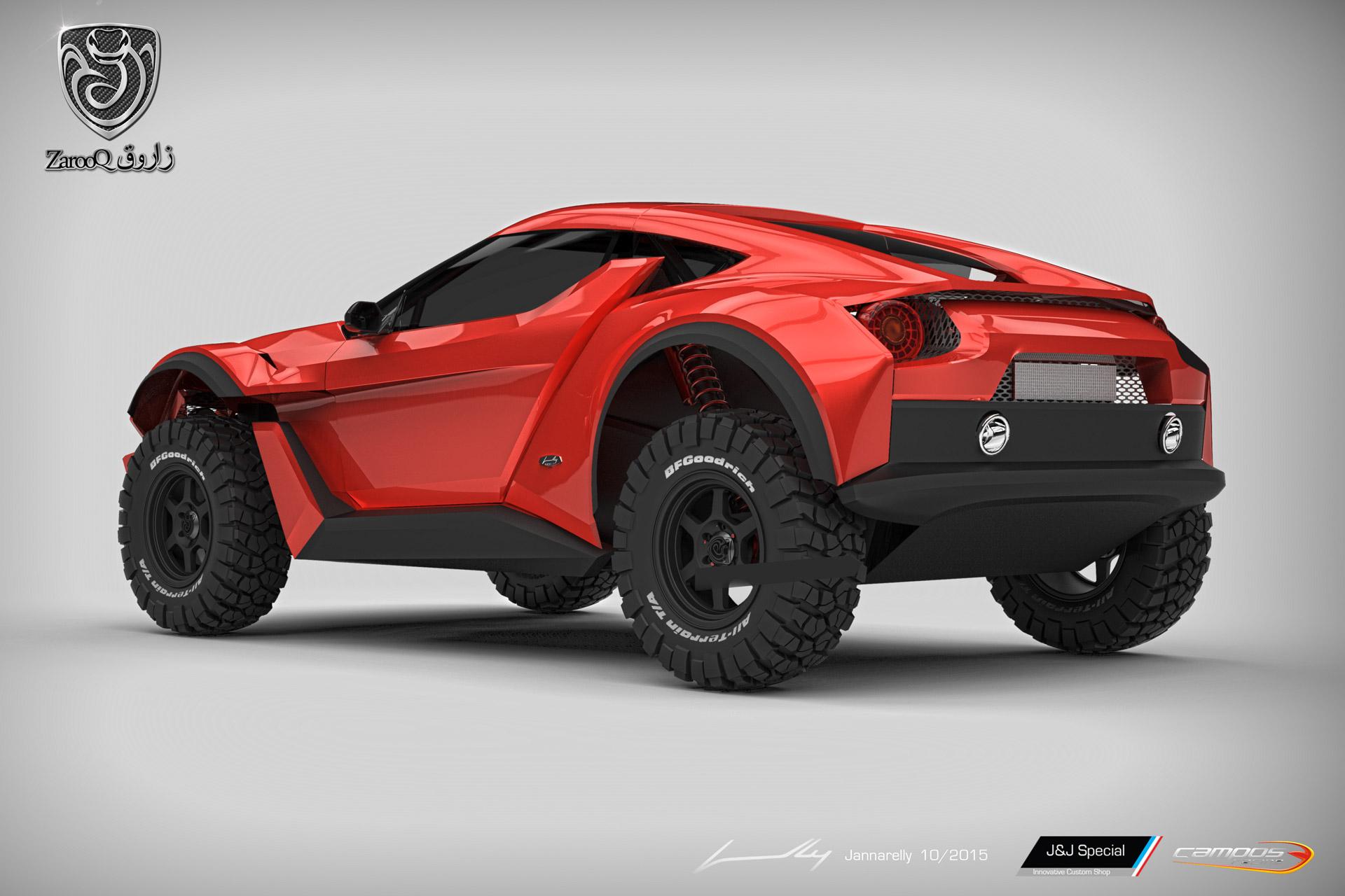 Zarooq Sand Racer: Correr por el desierto también puede ser interesante 1
