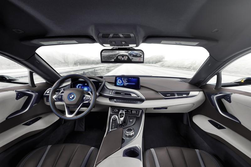 BMW i8 Mirrorless, la apuesta de BMW por el coche sin espejos retrovisores 2