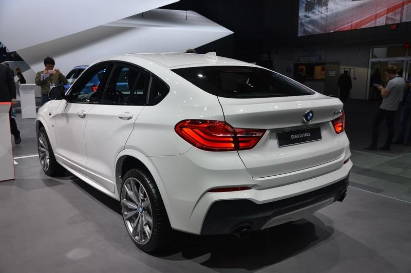 Desde Detroit: BMW X4 M40i 4
