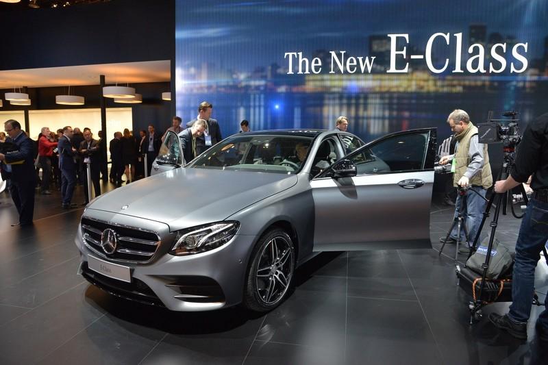 Detroit 2016: Mercedes Clase E, de primera mano y con todo lujo de detalles 1