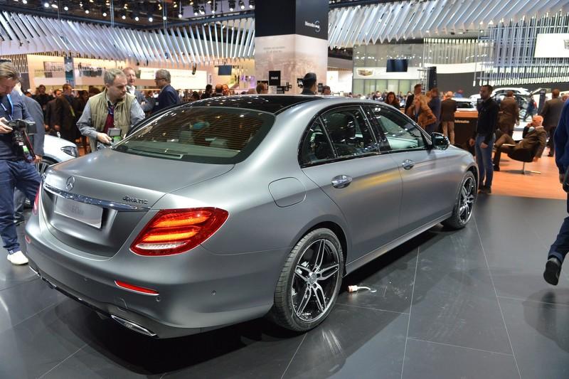 Detroit 2016: Mercedes Clase E, de primera mano y con todo lujo de detalles 4