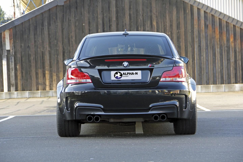 El BMW 1M Coupé llega a los 572 CV gracias a Alpha-N: Atacando a deportivos muy superiores 3