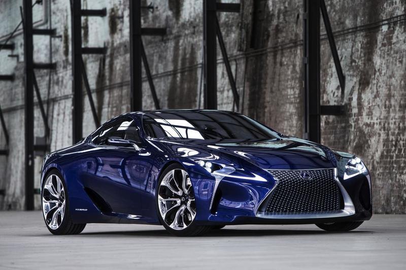 El Lexus LC estará en el Salón de Detroit, primer anticipo oficial del exótico japonés 1