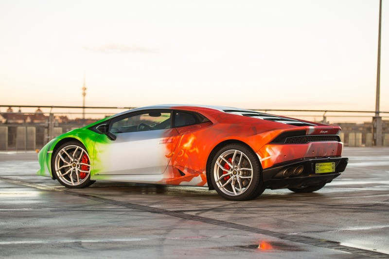 Lamborghini Huracan tricolor por Print Tech 3