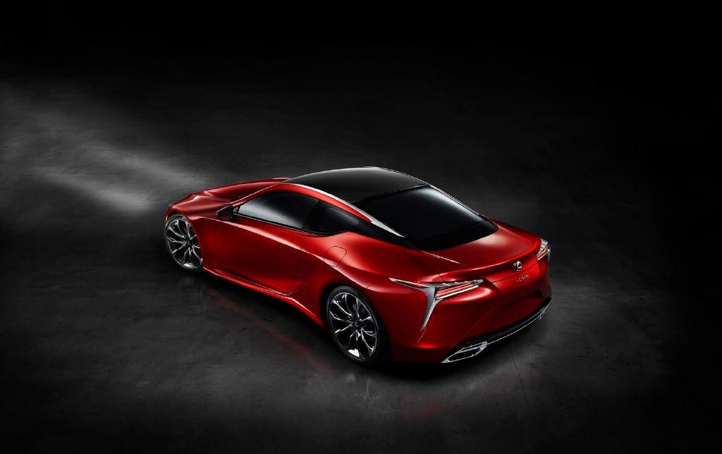 Lexus LC 500: El Coupé de altos vueltos derivado del LF-CC Concept 1