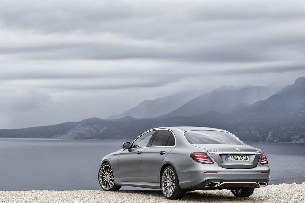 Oficial: nuevo Mercedes Clase E, primeras imágenes oficiales 2