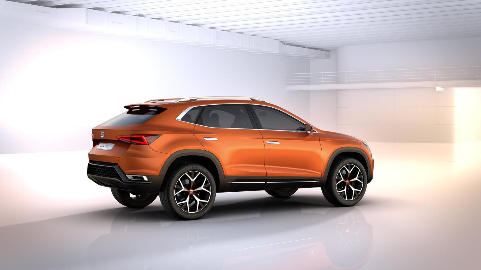 SEAT Tecta: Este sería el nombre del primer SUV de la firma 2