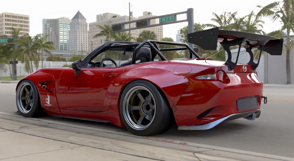TRA-Kyoto engorda hasta límites insospechados tu nuevo Mazda MX-5 2