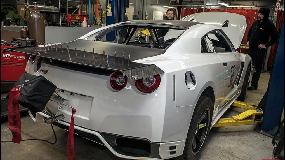 ¿2.500 CV en un Nissan GT-R? AMS lo hace posible con esta preparación brutal 1