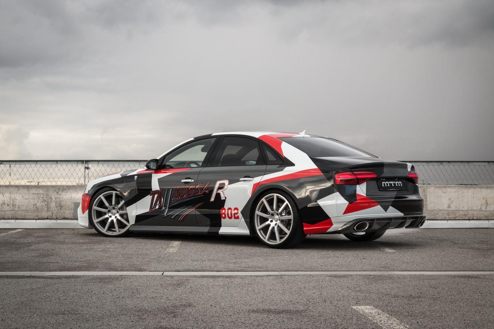 802 CV con el MTM Audi S8 Talladega R: Cuesta más de 200.000 euros... 2