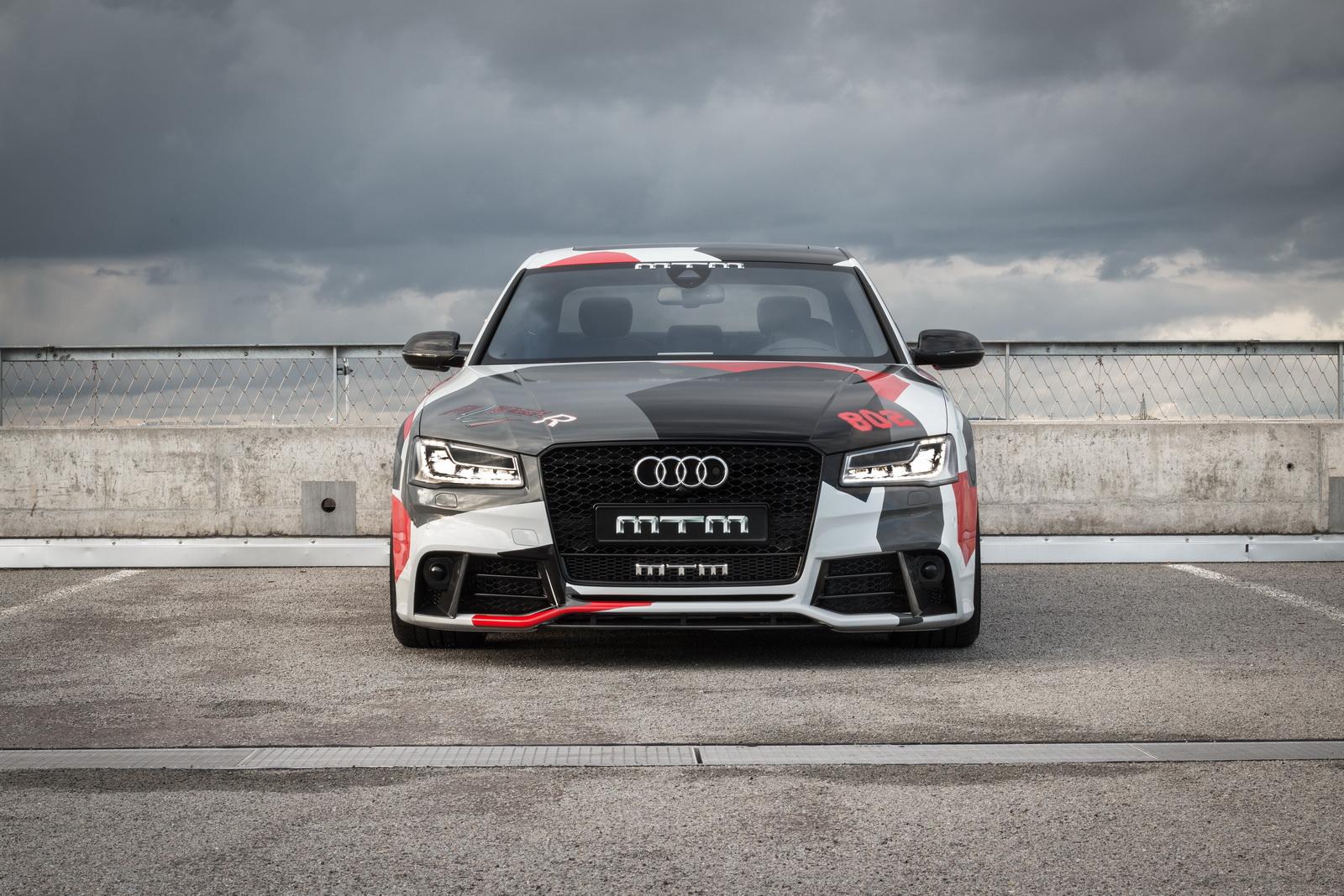 802 CV con el MTM Audi S8 Talladega R: Cuesta más de 200.000 euros... 3