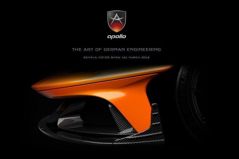 Apollo N: Así se llamará el coche más rápido del planeta... ¿por encima del Bugatti Chiron? 2
