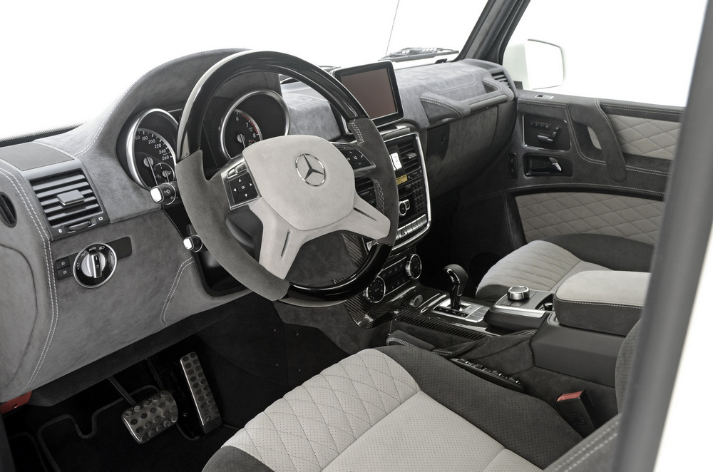 El Mercedes G500 V8 Turbo pasa por las manos de Brabus: Más potencia y pequeños cambios estéticos 2