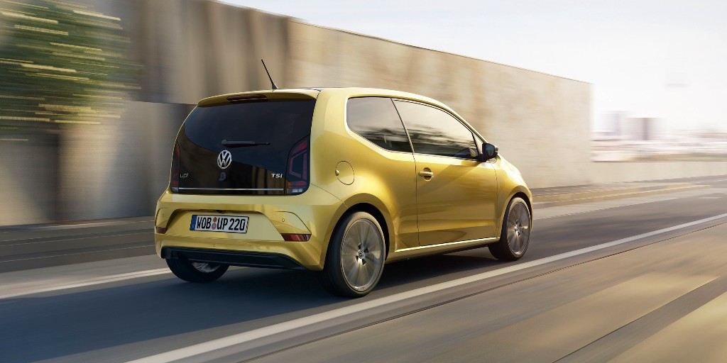 El Volkswagen Up! 2016, ahora con motor turbo de 90 CV y estética renovada 3