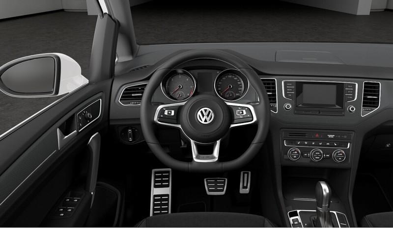 Llega el Volkswagen Golf Sportsvan R-Line: El monovolumen gana aspecto deportivo 2