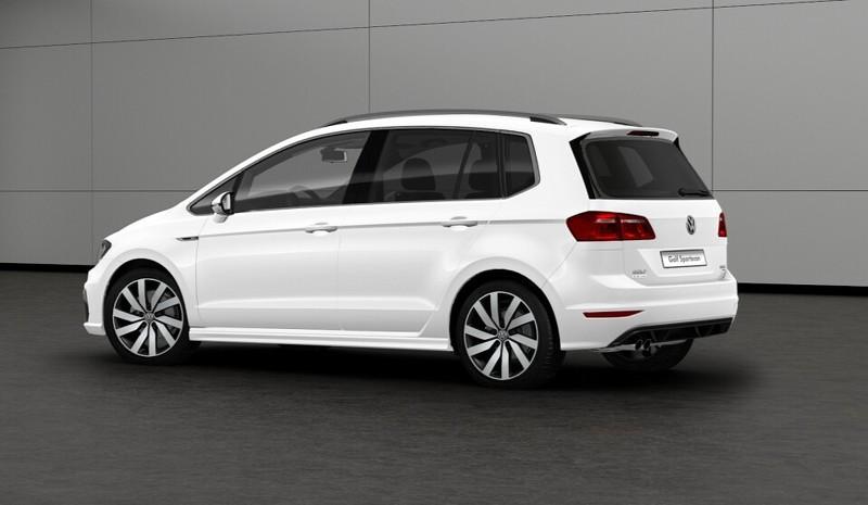 Llega el Volkswagen Golf Sportsvan R-Line: El monovolumen gana aspecto deportivo 3
