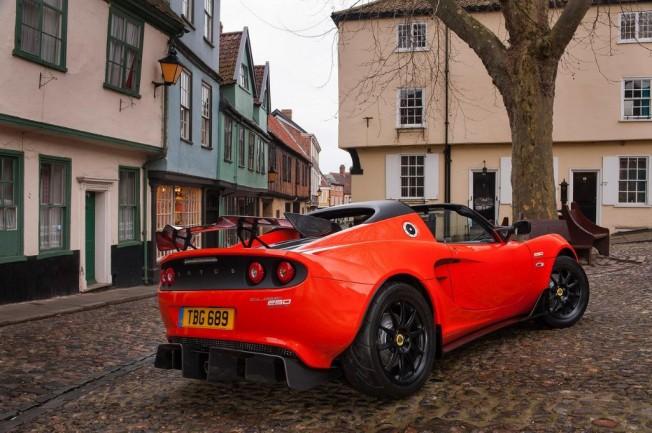 Lotus Elise Cup 250: 246 CV y 931 Kg de peso, el Elise más rápido de la gama 1