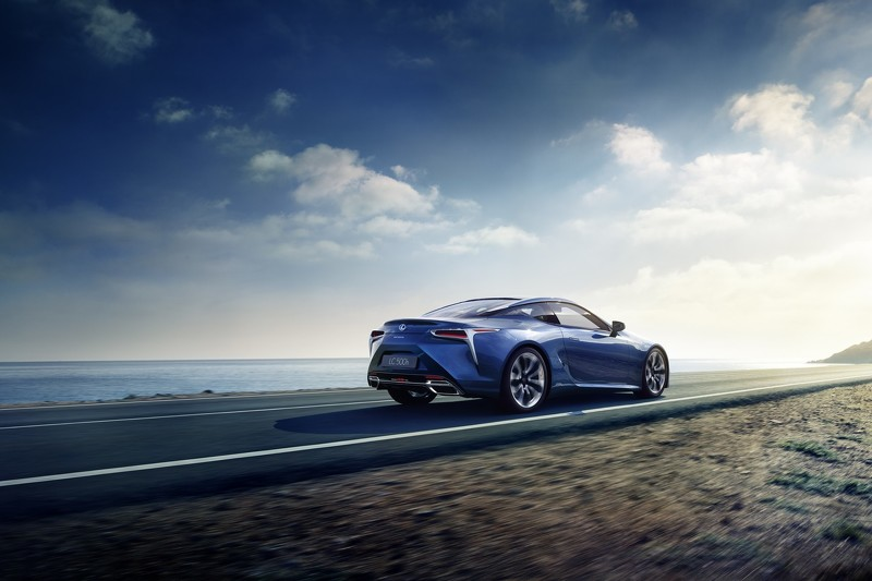 Oficial: Lexus LC 500h, primeras imágenes y datos antes del debut en Ginebra 1