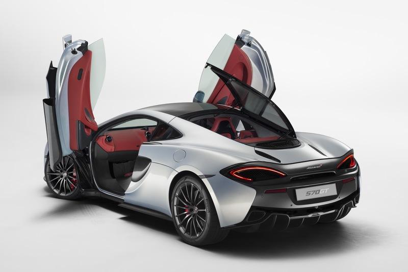 Oficial: McLaren 570GT, el más lujoso de la casa 3
