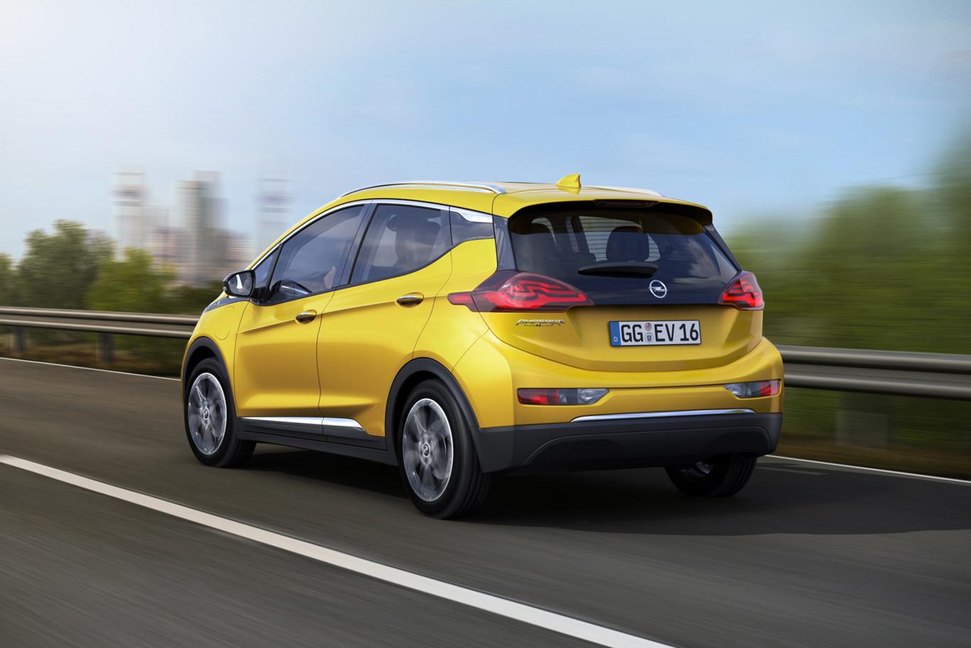 Opel Ampera-e: El eléctrico con el que General Motors quiere revolucionar el mercado 1