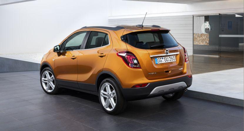 Opel Mokka X 2017: Renovación profunda para el SUV con numerosos cambios 2