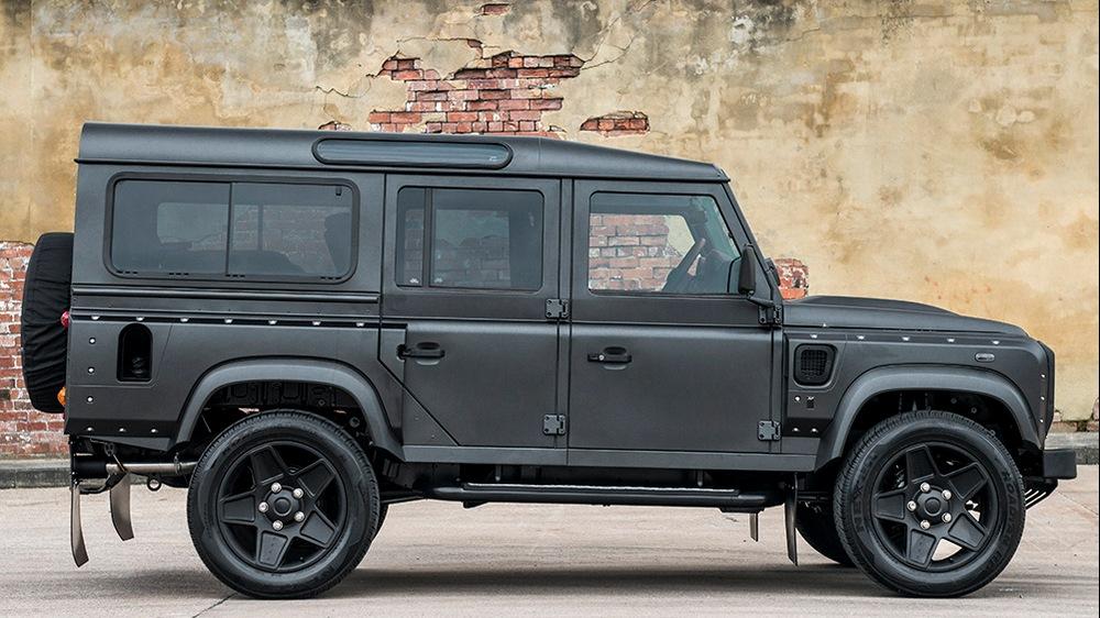 Project Kahn se despide a su manera del Land Rover Defender 2