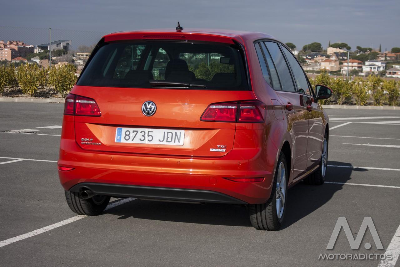 Prueba: Volkswagen Golf Sportsvan 1.6 TDI 110 CV DSG (diseño, habitáculo, mecánica) 3