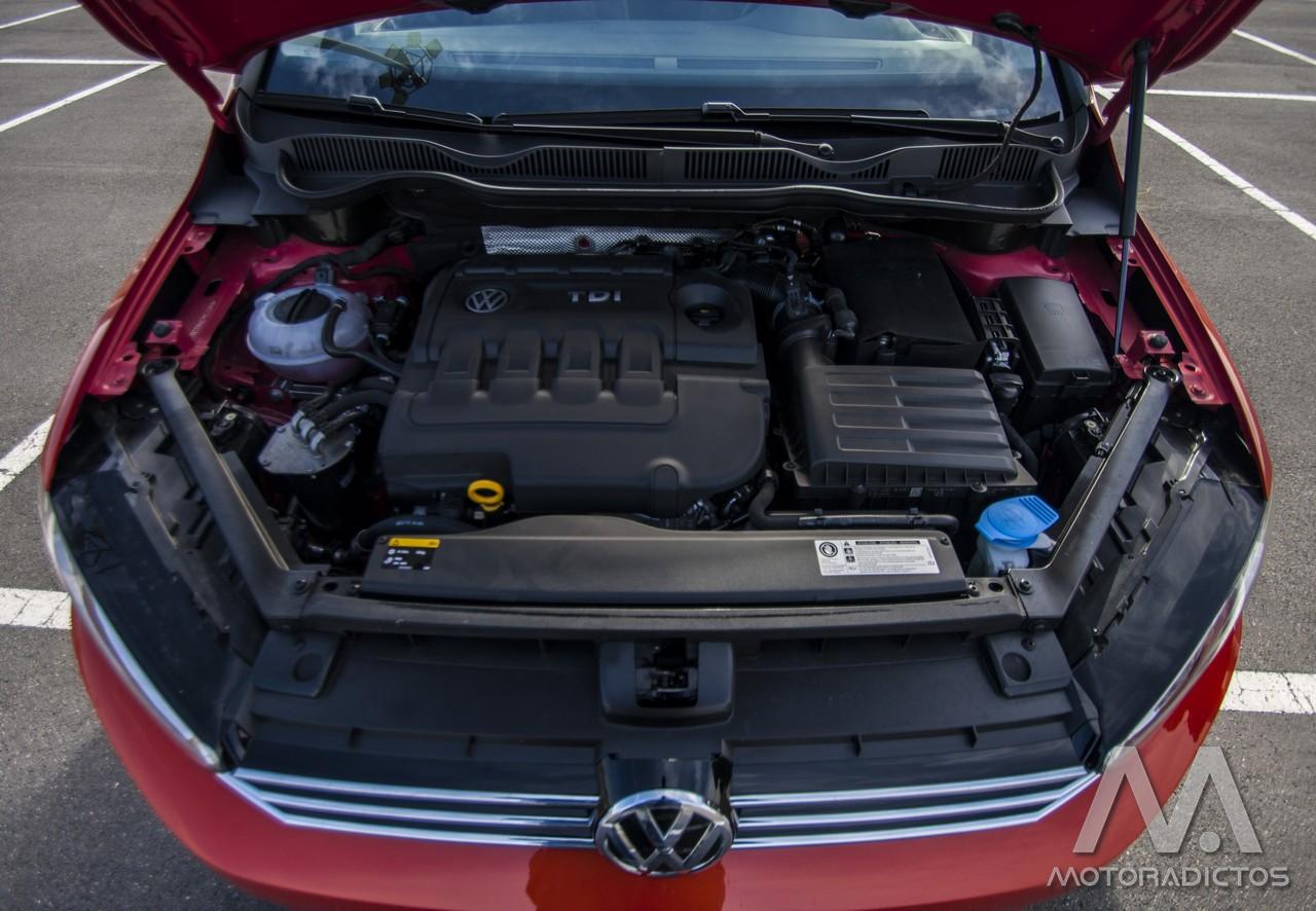 Prueba: Volkswagen Golf Sportsvan 1.6 TDI 110 CV DSG (diseño, habitáculo, mecánica) 5