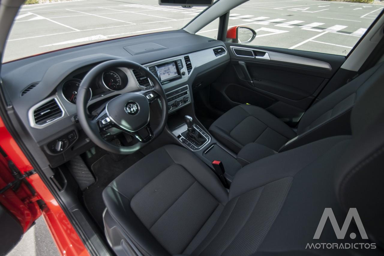 Prueba: Volkswagen Golf Sportsvan 1.6 TDI 110 CV DSG (diseño, habitáculo, mecánica) 7