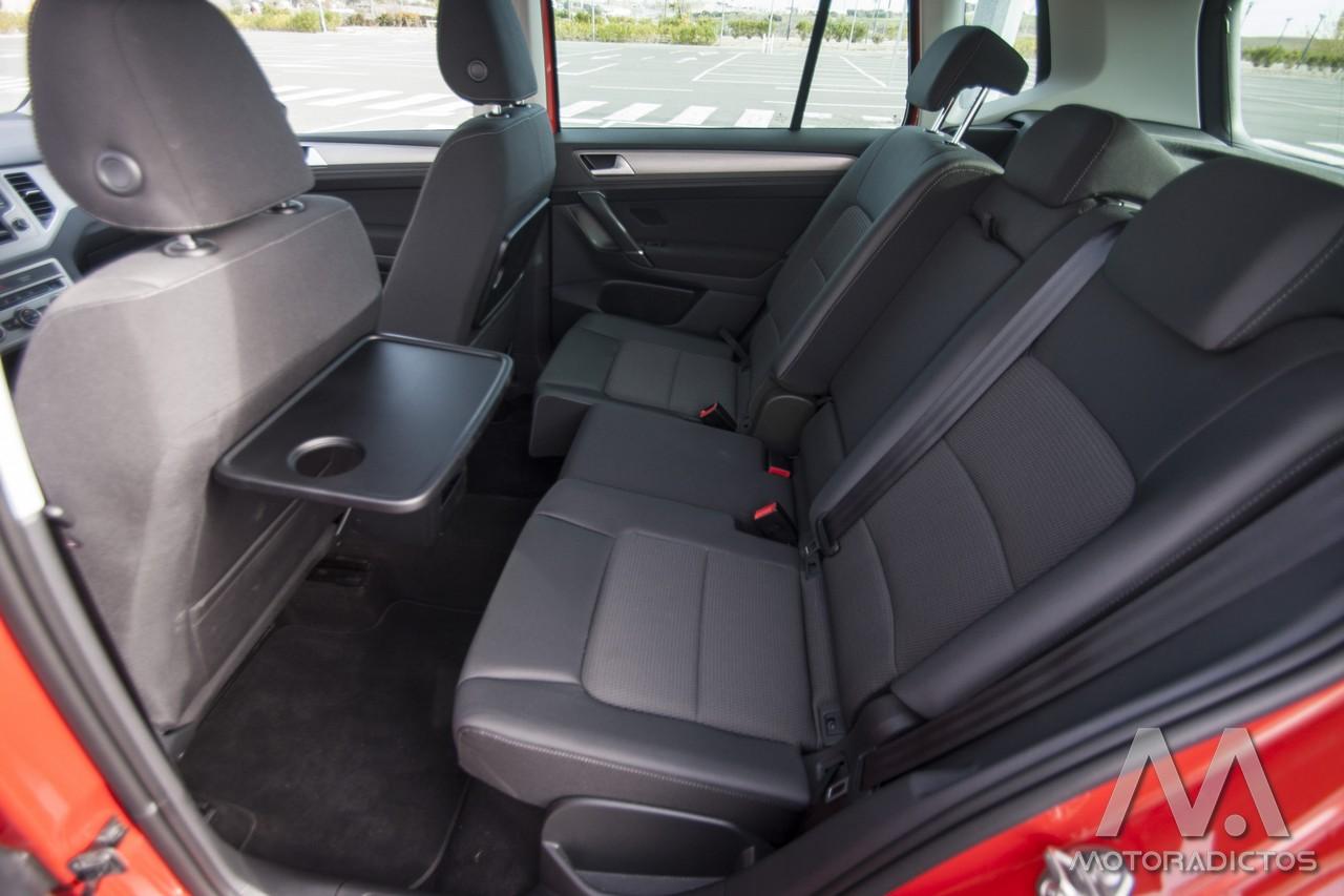 Prueba: Volkswagen Golf Sportsvan 1.6 TDI 110 CV DSG (diseño, habitáculo, mecánica) 8
