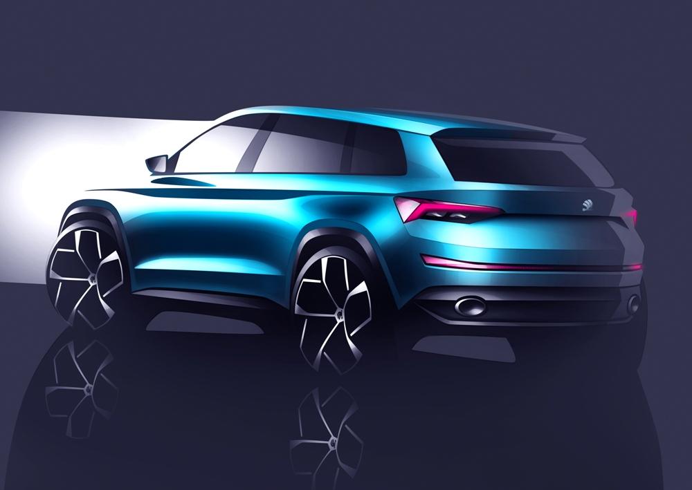 Skoda VisionS: Un anticipo del SUV de siete plazas que será primo del SUV de SEAT 2