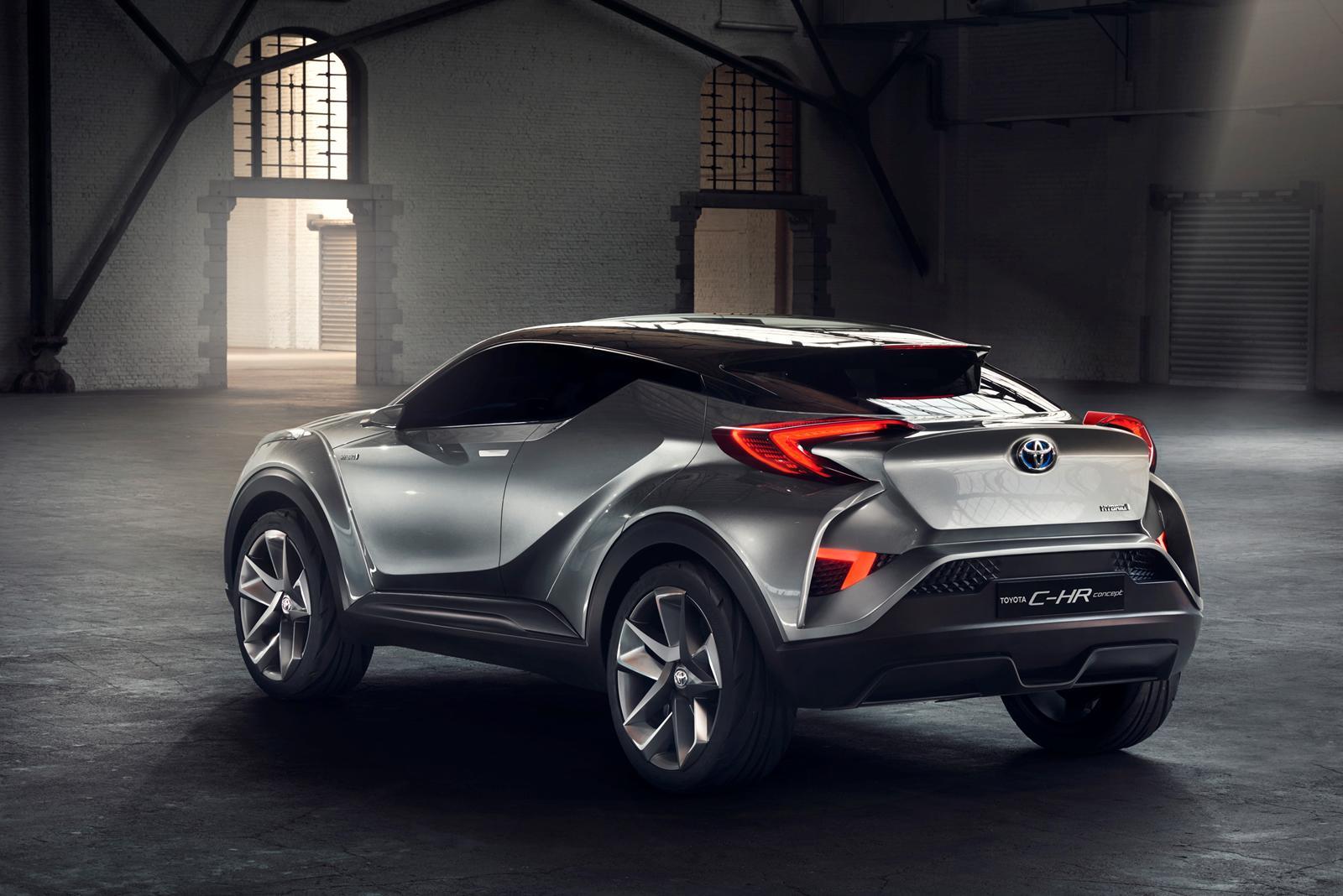 Toyota C-HR: El rival del Juke, Captur y 2008 se fabricará en Turquía y lo veremos en el Salón de Ginebra 2