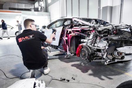 Así es el nuevo coche de Jon Olsson: Un Lamborghini Huracán en proceso