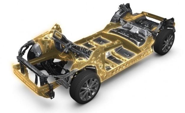 Así es la nueva plataforma global de Subaru que montará el nuevo Impreza 1