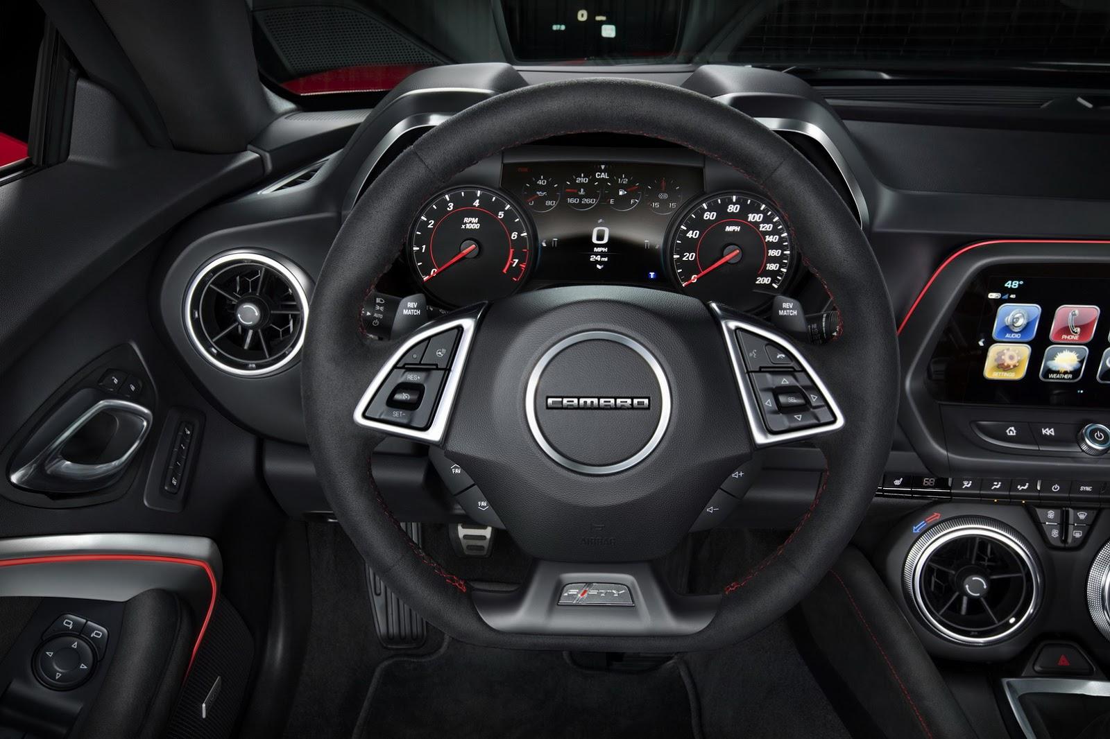 Así luce el Chevrolet Camaro ZL1 2017: Ahora con 640 CV de potencia y 90 kg menos de peso 1