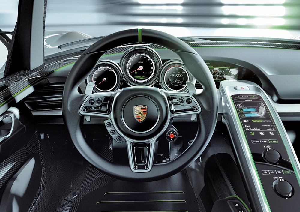¿Cuánto cuesta el V8 de 4.6 litros del Porsche 918 Spyder? ¿y un asiento? ¿y la caja de cambios? 4