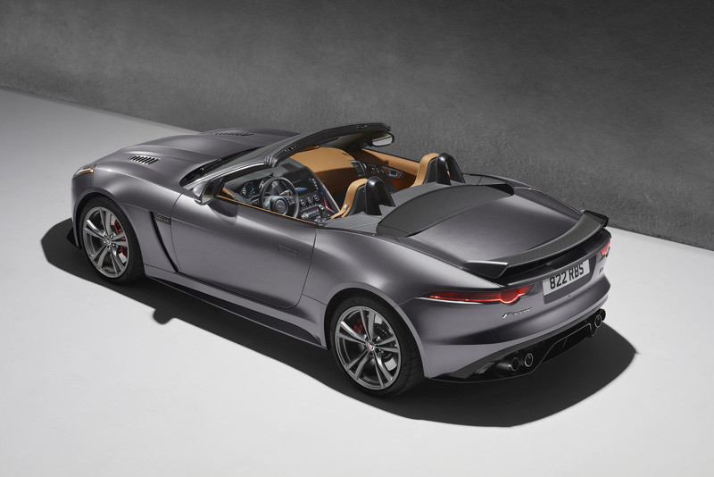 Desde Ginebra: Jaguar F-Type SVR 1