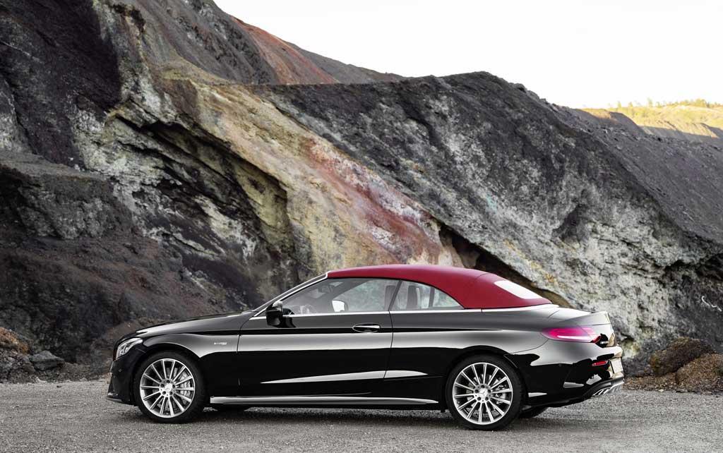 El Mercedes-AMG C 63 Cabrio debutará en Nueva York 1