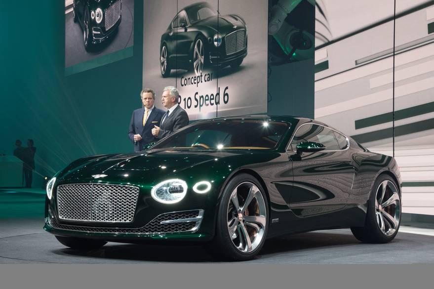 El próximo Bentley Continental GT ya está más cerca, ¿tanto se diferenciará del EXP 10 Speed 6? 3
